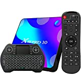 Android TV Box 11, 4GB RAM 32GB ROM Android 11.0 Compatible con 4K 3D, RK3318 Dual-WiFi 2.4g /...
