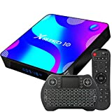 Android TV Box 11, 2GB RAM 16GB ROM Android 11 Compatible con 4K 3D H.265, RK3318 Dual-WiFi...